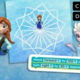 【無料】アナ雪でプログラミング学習「HOUR OF CODE」を小1娘が体験