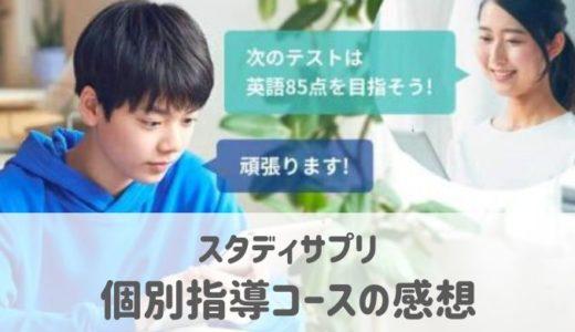 スタディサプリ個別指導コースの口コミ&体験談。月9800円の価値はある?
