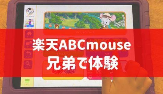 楽天ABCマウスを兄弟で無料体験した口コミ|失敗しない使い方は?