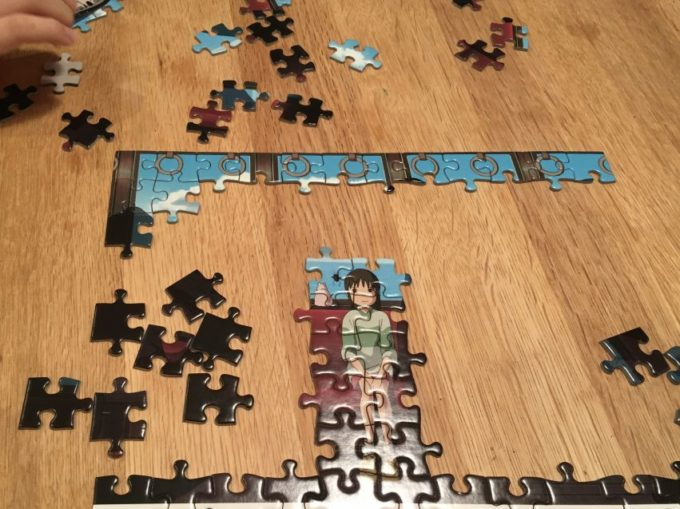 ジブリ 千と千尋の神隠し ジグソーパズル 効果