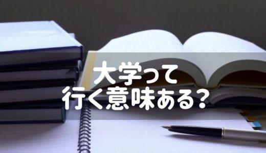 日本の大学って高い学費払ってまで行く意味ないんだろうか(1)